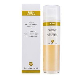 Ren Neroli & Grapefruit Body Wash  200ml/6.8oz