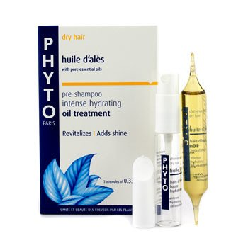 Phyto Huile D 'Ales Intense Hydrating Oil Treatment (Pre-Shampoo - Dry Hair)  5x10ml/0.33oz
