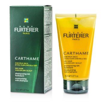 Rene Furterer Carthame Moisturizing Milk Shampoo (For Dry Hair and/or Dry Scalp)  150ml/5.07oz