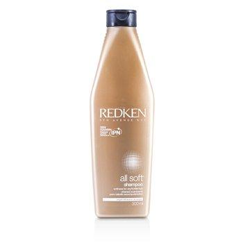Redken All Soft Shampoo (For Dry/ Brittle Hair)  300ml/10.1oz