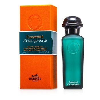 Hermes D'Orange Verte Eau De Toilette Refillable Concentrate Spray  50ml/1.6oz