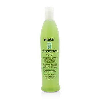 Rusk Sensories Purify Cucurbita and Tea Tree Oil Deep Cleansing Shampoo  400ml/13.5oz