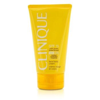Clinique Face / Body Cream SPF 15 UVA / UVB  150ml/5oz