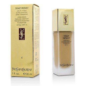 Yves Saint Laurent Teint Resist Long Wear Transfer Resistant Foundation SPF10 (Oil Free) - #04 Sand  30ml/1oz