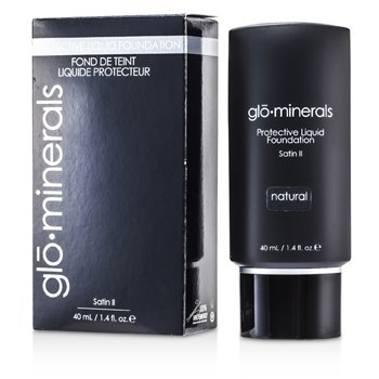 GloMinerals GloProtective Oil Free Liquid Foundation Satin Finish - Natural  40ml/1.4oz