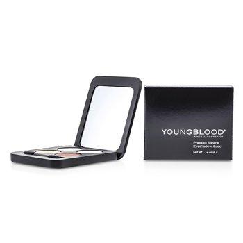 Youngblood Pressed Mineral Eyeshadow Quad - Eternit  4g/0.14oz