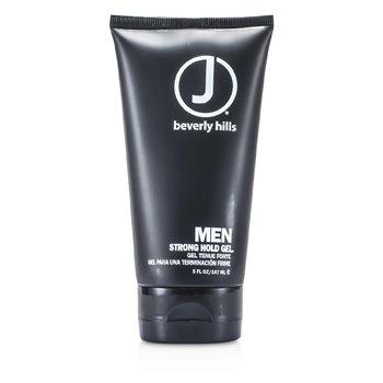 J Beverly Hills Men Strong Hold Gel  147ml/5oz