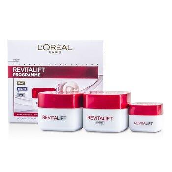 L'Oreal Revital Lift Programme: Day Cream + Eye Cream + Night Cream  3pcs