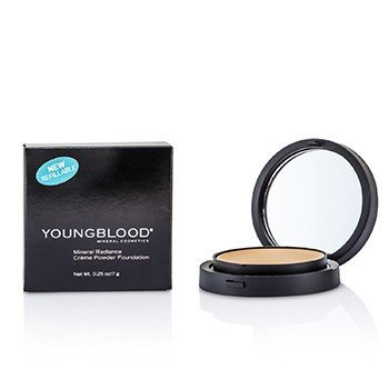 Youngblood Mineral Radiance Creme Powder Foundation - # Honey  7g/0.25oz