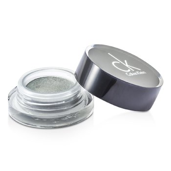 Calvin Klein Tempting Glimmer Sheer Creme EyeShadow - #305 Snakeskin Silver (Unboxed)  2.5g/0.08oz