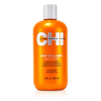CHI Deep Brilliance Yellow Buster Neutralizing Conditioner  350ml/12oz