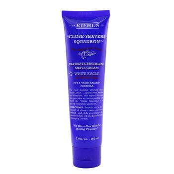 Kiehl's Ultimate Brushless Shave Cream - White Eagle  150ml/5oz
