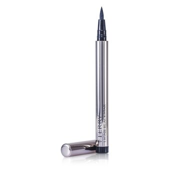 By Terry Ligne Blackstar Intense Liquid Eyeliner Waterproof - # 1 So Black  0.8ml/0.02oz