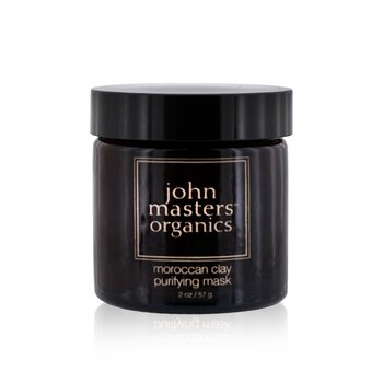 John Masters Organics Moroccan Clay Purifying Mask (For Oily/ Combination Skin)  57g/2oz