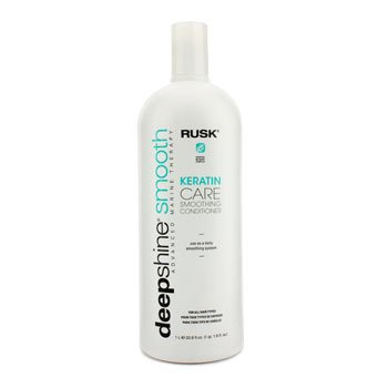 Rusk Deepshine Smooth Keratin Care Smoothing Conditioner  1000ml/33.8oz