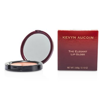 Kevyn Aucoin The Elegant Lip Gloss - # Molasses (Warm Taupe Apricot)  3.65g/0.13oz
