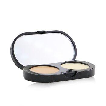 Bobbi Brown New Creamy Concealer Kit - Warm Beige Creamy Concealer + Pale Yellow Sheer Finish Pressed Powder  3.1g/0.11oz