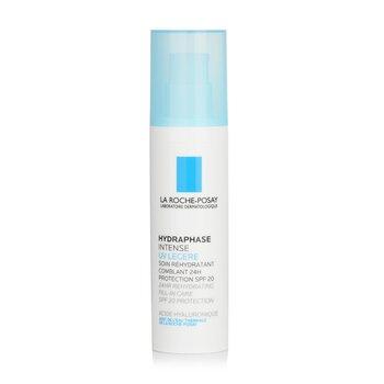 La Roche Posay Hydraphase 24-Hour Intense Daily Rehydration SPF20 (For Sensitive Skin)  50ml/1.69oz