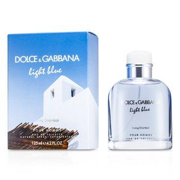 Dolce & Gabbana Light Blue Living In Stromboli Eau De Toilette Spray  125ml/4.2oz