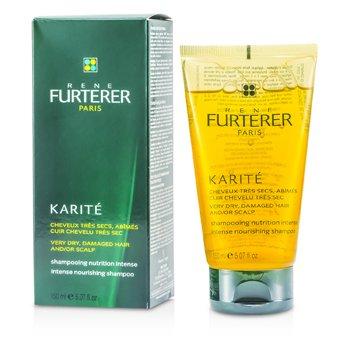 Rene Furterer Karite Intense Nourishing Shampoo (For Very Dry, Damaged Hair and/or Scalp)  150ml/5.07oz