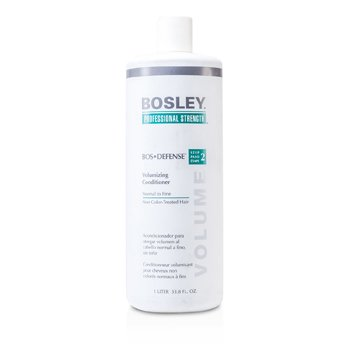 Bosley Professional Strength Bos Defense Volumizing Conditioner (For Normal to Fine Non Color-Treated Hair)  1000ml/33.8oz