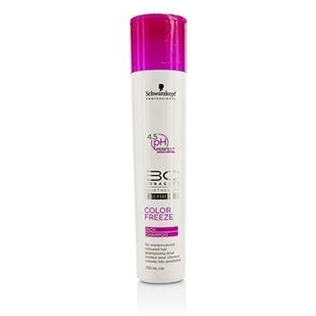 Schwarzkopf BC Color Freeze Rich Shampoo - For Overprocessed Coloured Hair (Cap Slightly Damaged)  250ml/8.4oz