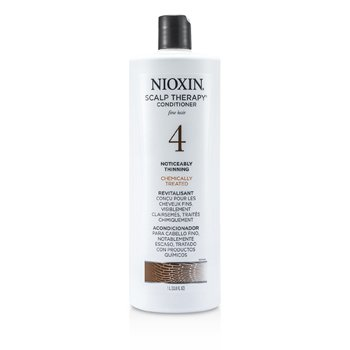 Nioxin System 4 Scalp Therapy Conditioner For Fine Hair, Chemically Treated, Noticeably Thinning Hair  1000ml/33.8oz