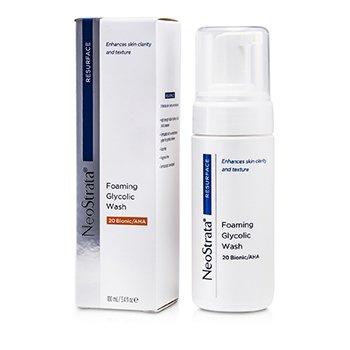 Neostrata Resurface Foaming Glycolic Wash 20 Bionic/AHA  100ml/3.4oz
