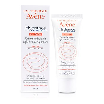 Avene Hydrance Optimale UV Light Hydrating Cream SPF 20 - For Normal to Combination Sensitive Skin  40ml/1.35oz