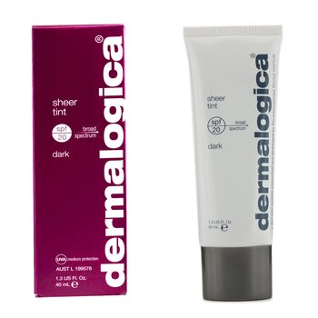 Dermalogica Sheer Tint Moisture SPF20 (Dark)  40ml/1.3oz