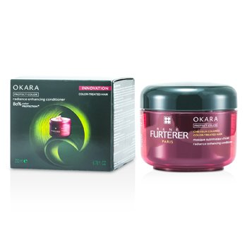Rene Furterer Okara Radiance Enhancing Conditioner (For Color-Treated Hair)  200ml/6.8oz