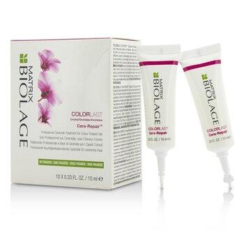 Matrix Biolage ColorLast Cera-Repair Professional Ceramide Treatment (For Colour-Treated Hair)  10x10ml/0.33oz