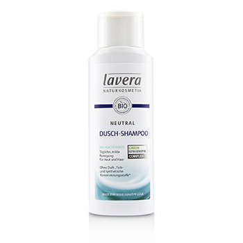 Lavera Neutral Shower Shampoo (For Skin and Hair)  200ml/6.6oz