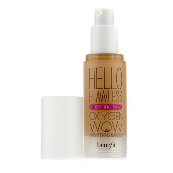 Benefit Hello Flawless Oxygen Wow Brightening Makeup SPF 25 (Oil Free) - # I'm All The Rage (Beige)  30ml/1oz