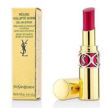 Yves Saint Laurent Rouge Volupte Shine - # 5 Fuchsia In Excess/ Fuchsia Chiffon  4.5g/0.15oz
