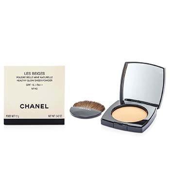 Chanel Les Beiges Healthy Glow Sheer Powder SPF 15 - No. 40  12g/0.4oz
