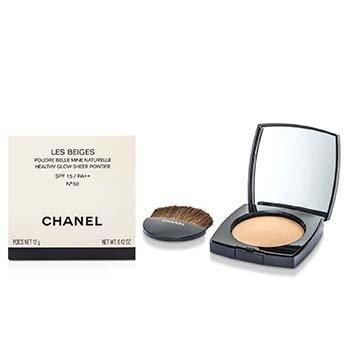 Chanel Les Beiges Healthy Glow Sheer Powder SPF 15 - No. 50  12g/0.4oz