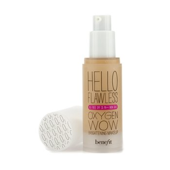 Benefit Hello Flawless Oxygen Wow Brightening Makeup SPF 25 (Oil Free) - # I'm Plush & Precious (Petal)  30ml/1oz