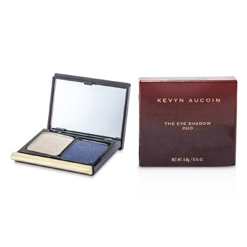 Kevyn Aucoin The Eye Shadow Duo - # 206 Taupe Shimmer/ Blackened Blue Shimmer  4.8g/0.16oz