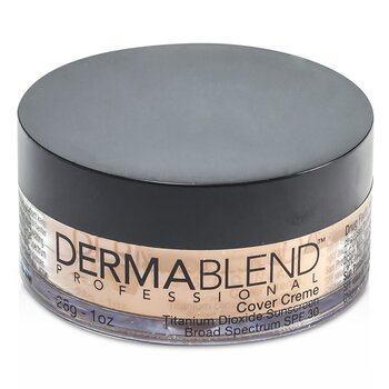 Dermablend Cover Creme Broad Spectrum SPF 30 (High Color Coverage) - Medium Beige  28g/1oz