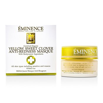 Eminence Yellow Sweet Clover Anti-Redness Masque  30ml/1oz