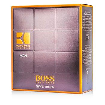 Hugo Boss Boss Orange Man Coffret: Eau De Toilette Spray 100ml/3.3oz + A/S Balm 50ml/1.6oz + Shower Gel 50ml/1.6oz  3pcs