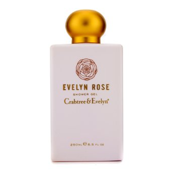Crabtree & Evelyn Evelyn Rose Shower Gel  250ml/8.5oz