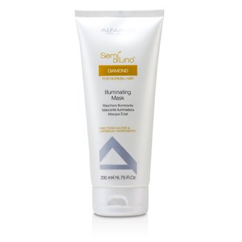 AlfaParf Semi Di Lino Diamond Illuminating Mask (For Normal Hair)  200ml/6.76oz
