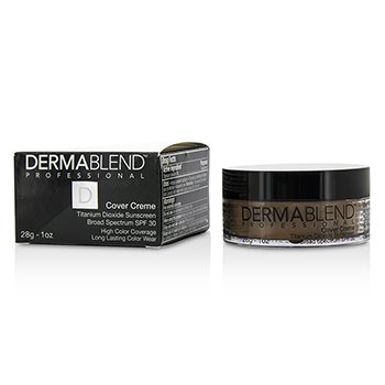 Dermablend Cover Creme Broad Spectrum SPF 30 (High Color Coverage) - Olive Brown  28g/1oz