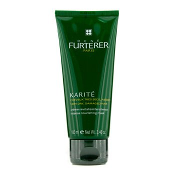 Rene Furterer Karite Nourishing Ritual Intense Nourishing Mask - Very Dry, Damaged Hair (Tube)  100ml/3.4oz
