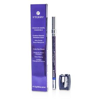 By Terry Crayon Khol Terrybly Color Eye Pencil (Waterproof Formula) - # 9 Royal Navy  1.2g/0.04oz