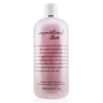 Philosophy Unconditional Love Shampoo, Bath & Shower Gel  480ml/16oz