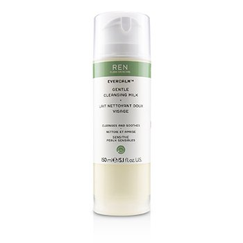 Ren Evercalm Gentle Cleansing Milk (For Sensitive Skin)  150ml/5.1oz