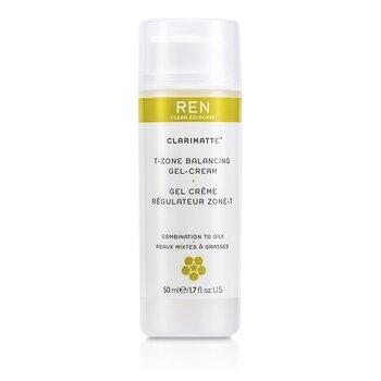 Ren Clarimatte T-Zone Balancing Gel Cream (For Combination To Oily Skin)  50ml/1.7oz